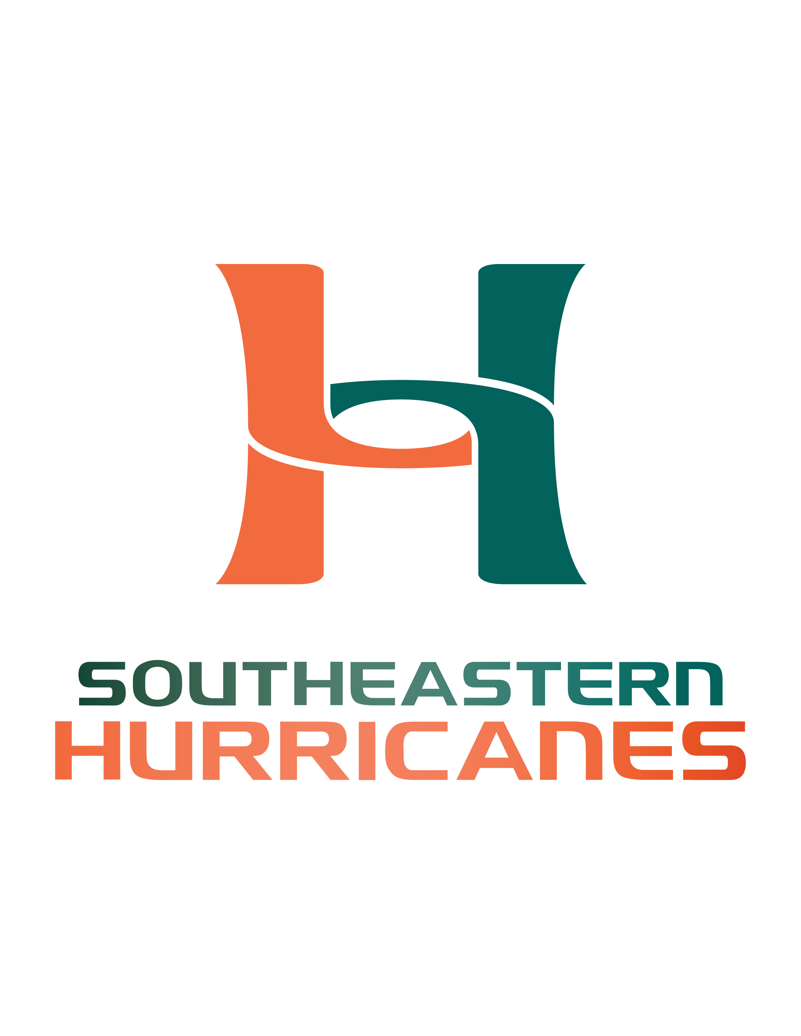 Hurricanes Logo with Lettering